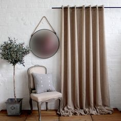 LINE PLAIN MESH Eyelet Curtian Furniture, Cushions, Linen Bedding, Fabric Collection, Window Styles, Home Decor, Curtains, Scatter Cushions, Cotton Blankets