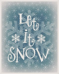 Mimi Lee Printables & More: Let it snow Free printable