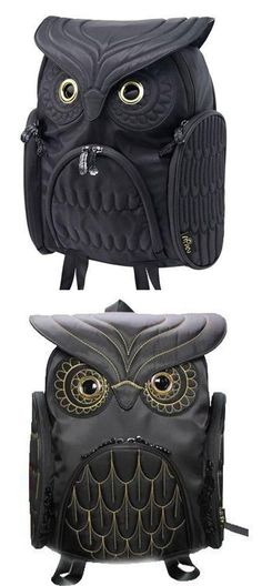 711cf9958469 Cool Owl Shape Solid Computer Backpack Large School Bag Animal Backpack  #backpack #Bag #
