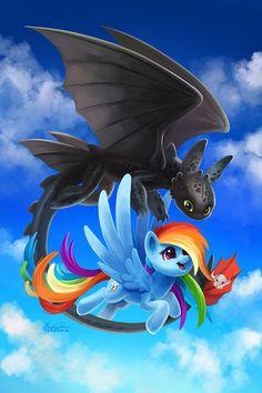 Over the Rainbow by TsaoShin.deviantart.com on @DeviantArt