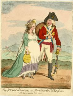 The Soldier's Return (showing the Duke of York and Princess Frederica). See the conquering hero comes.