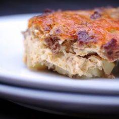 Paleo Breakfast Casserole grain-free