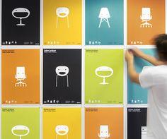 Studio Playground likes this design: JasonL Furniture Identity by Jason Little, via Behance Identity Design, Graphic Design Branding, Graphic Design Illustration, Advertising Design, Visual Identity, Logo Branding, Brand Identity, Office Branding, Identity Art