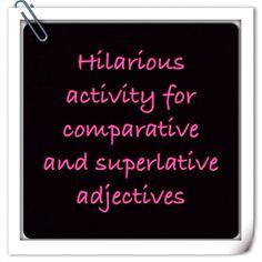 Comparative and Superlative Adjective Advertisements