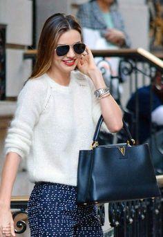 Louis Vuitton Capucines bag — hardwearing chic