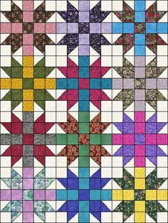 Easy to Do Quilt Patterns | ... Sisters Choice Easy To Make Ready To Sew Pre-Cut Quilt Blocks Top Kit