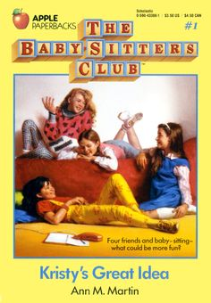 The Babysitters Club, Great Books, Great Memories - lot of nostalgia attached to these books.used to go to Itaewon Book Store or Kyobo book center to get the new books from the series. Joys of childhood reading. 90s Childhood, My Childhood Memories, Childhood Characters, Childhood Friends, Sweet Memories, Book Characters, Female Characters, Bruce Springsteen, Babysitters Club Books