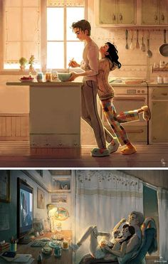 These 10 Sweet Illustrations Prove That Love Is In The Little Things
