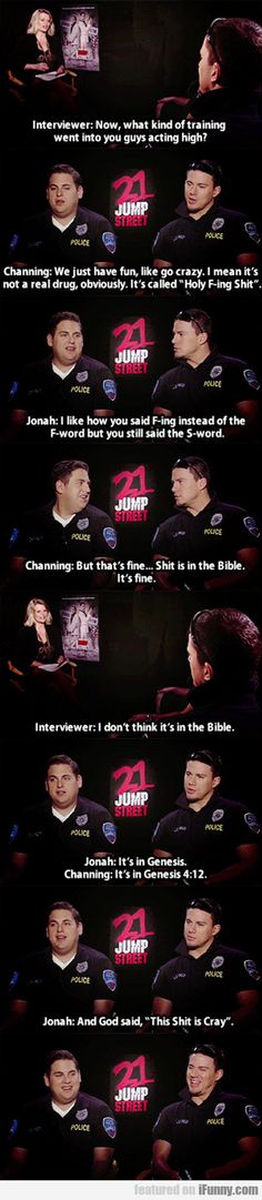 22 jump street interview