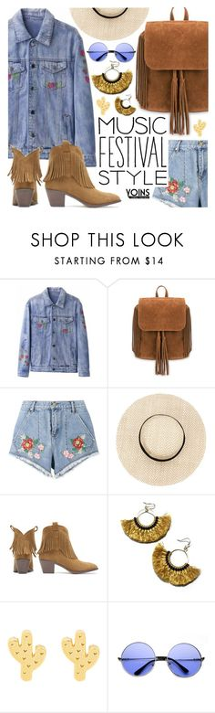 """#FestivalFashion #Yoins"" by pastelneon ❤ liked on Polyvore featuring House of Holland, NAKAMOL, ZeroUV, festivalfashion, yoins, yoinscollection and loveyoins"
