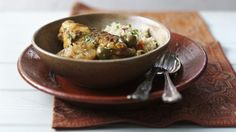 A tasty, aromatic chicken tagine recipe. Serve with couscous for a filling supper.