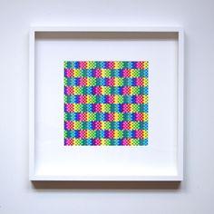 Lea Burrot - New drawing! ✏️ . . . #drawing #colors #art #arty #artinberlin #berlin #artist #frenchartist #neoncolor #optical #opart #instaart #instaartist #neon #abstractart #contemporaryart #leaburrot #LBxLB_studio #LBxLB #LB2 #bauhaus #etsy #contrast #etsyfr #creation #instadaily #pattern #geometric #graphics #design