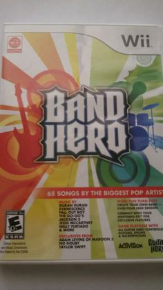 Wii Band Hero  (Wii, 2009) ~ $9.50 + FREE SHIPPING!!