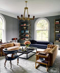 1stdibs founder Michael Bruno realizes his dream home–a sophisticated and minimal home in New York's historic Tuxedo Park–with the help of designer Windsor Smith