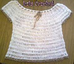 Resultado de imagen para tejido crochet remeron en punto cadena