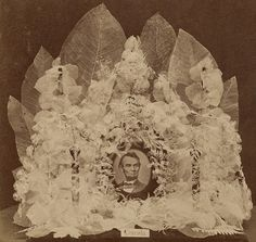 memorial stereo card on Anniversary of Lincoln's Assassination