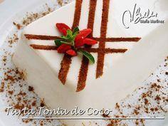 Tarta Tonta de Coco para Dieta Dukan (fase Ataque), de RecetasDukanMariaMartinez.com