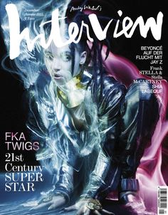 FKA Twigs by Sølve Sundsbø for Interview Magazine Germany December 2014 January 2015
