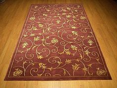 5 x 8 High Quality Handmade Hand Knotted Wool / Silk Tibetan Jasmin Rug #1142