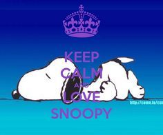 KEEP CALM AND LOVE SNOOPY - KEEP CALM AND CARRY ON Image Generator