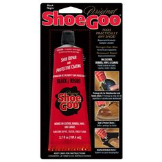 $6.98 - Shoe Goo Black 3.7 Oz Footwear Adhesive Repair Protective Coating #ebay #Fashion