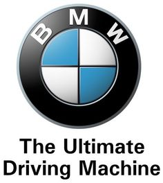 The Ultimate Driving Machine. BMW!    Source: www.pinterest.com/pin/202380576976185602/