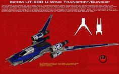 UT-60D U-Wing Transport-Gunship ortho [2][New] by unusualsuspex.deviantart.com on @DeviantArt