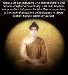 every being has Buddha nature
