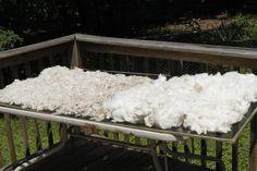 Washing fleece