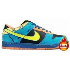 sports shoes 6a6f8 73844 Mens Nike Dunk Low Pro SB Skate or Die Edition Black Neon Yellow