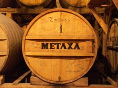 1885 - 2012 METAXA // 1848 - 1909 Liquor Drinks, Ticks, Greece, The Past, Canning, Alcoholic Drinks, Greece Country, Home Canning, Conservation