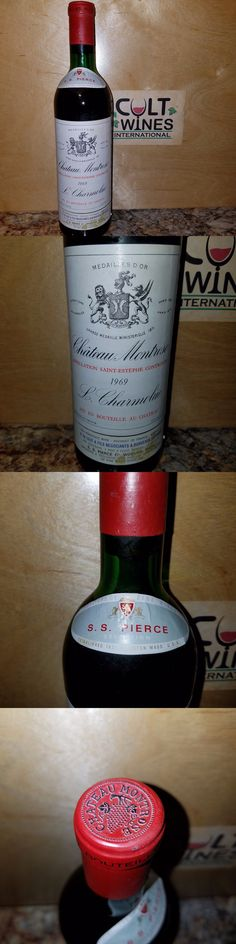 Red Wines 38182: 1969 Chateau Montrose Bordeaux Wine, St. Estephe (Listing 1 Of 6) -> BUY IT NOW ONLY: $199.99 on eBay!