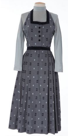 """Designed by Irene. Worn by Dorothy McGuire as """"Ellen Bowker Pierce"""" when her husband introduces her to Dr. Fromm (Michael Chekhov) in Invitation."""