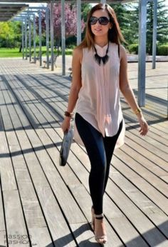 Casual And Simple Spring Outfits Ideas 01