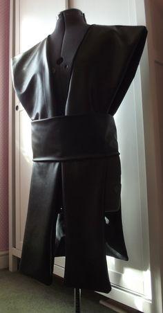 Star Wars Jedi Sith tabard shoulder armor ninja warrior knight cosplay