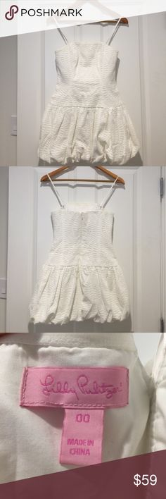 Spotted while shopping on Poshmark: Lilly Pulitzer white eyelet dress! #poshmark #fashion #shopping #style #Lilly Pulitzer #Dresses & Skirts