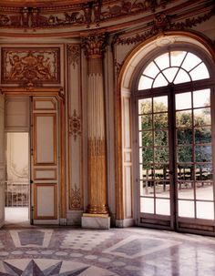 Inside the French Pavilion, Petite Trianon, Versailles