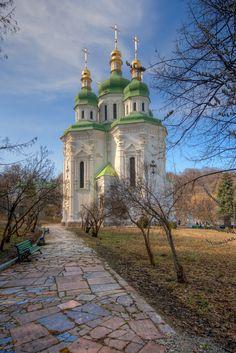 St. George Church, Vydubychi Monastery (HDR)-Ukraine