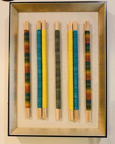 Craft Projects, Projects To Try, Yarn Crafts, Textile Art, Diy Art, Diy Home Decor, Weaving, Crafting, Textiles