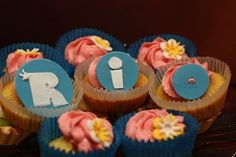 Rio Movie Birthday Cake and Cupcakes