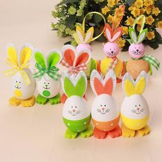 Cheap decorated goose eggs, Buy Quality decorate easter eggs directly from China egg separater Suppliers: Best Quality New Cute Bunny Shaped Easter Eggs Hanging Gift Kindergarten Decor Child 3 Styke Hoppy Easter, Easter Eggs, Easter Arts And Crafts, Kindergarten Gifts, Egg Toys, Paper Crafts Origami, Cute Bunny, Bunny Rabbit, Egg Decorating