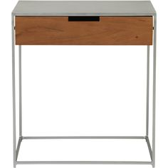CB2 Audrey Nightstand  Nice as side table