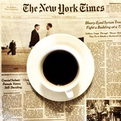 New York Times and coffee <3