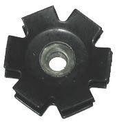 Sunlite Low Profile Plastic ATB w// Toe Clip 9//16` Black Nylon Toe Clips