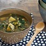 50 Vegetarian Slow cooker recipes Recipe | Chard, Lentil & Potato Slow Cooker Soup