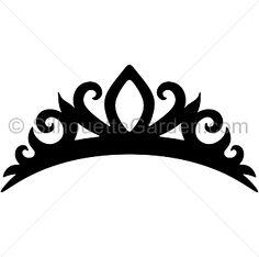 Tiara silhouette cli