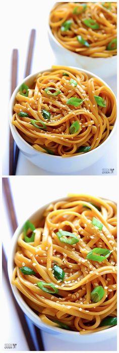 Sesame Noodles | Food'n Drink Recipes