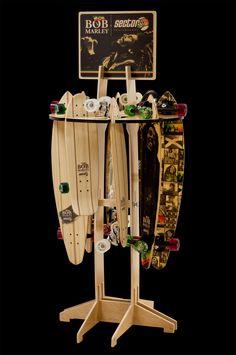 Bom Marley Display rack - LONGBOARD RACK
