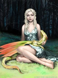 Daenerys targaryen by Yuuza.deviantart.com on @DeviantArt