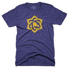 """Atomic Lotus"" graphic designer t-shirt by Scott Lewis. | Cotton Bureau"